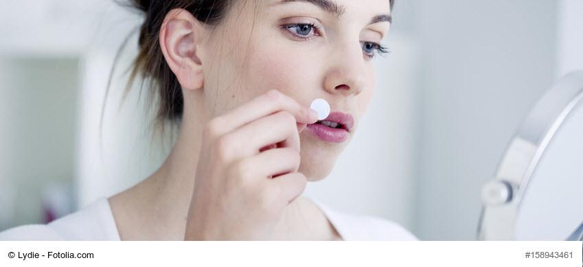 wie lange überleben herpesviren auf lippenstift